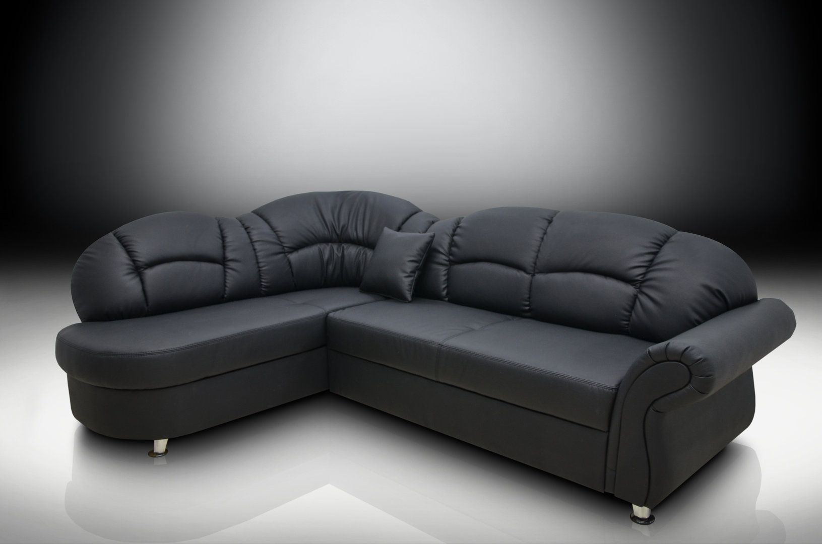 Black Corner Sofas A Perfect Mix Of Luxury Comfort Style For 2018 Homes Leather Corner Sofa Corner Sofa Bed Sofa Bed