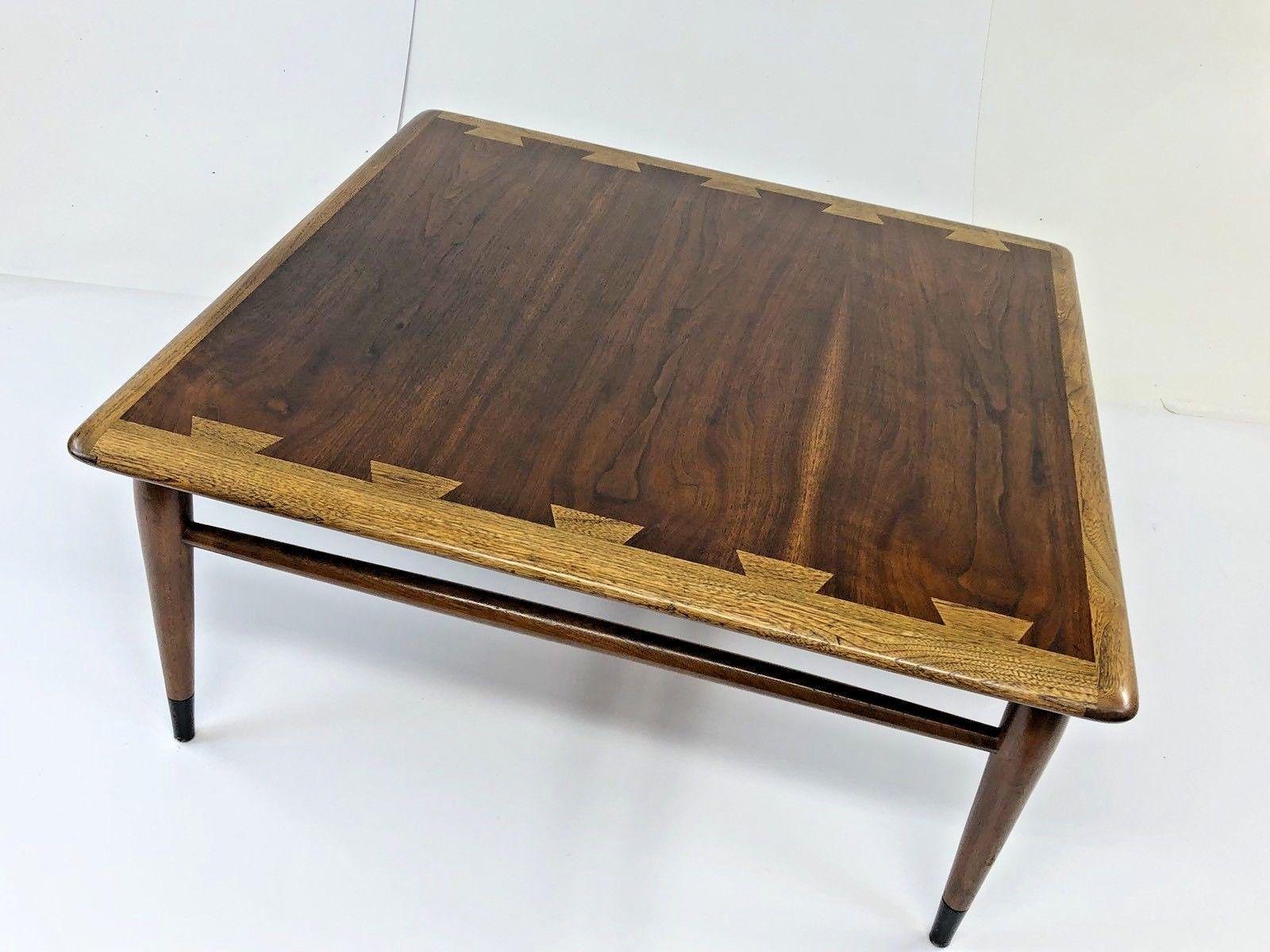 Mid Century Lane Acclaim Coffee Table Dovetail Modern Vintage Inlaid Walnut 60s Ebay Coffee Table Mid Century Coffee Table Lane Coffee Table [ 1200 x 1600 Pixel ]
