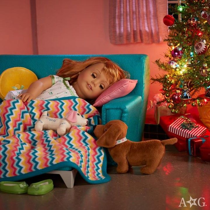 "American Girl Official on Instagram: ""Maryellen is dreaming of a white and snowy Christmas with her grandparents! What are you dreaming of? �"""