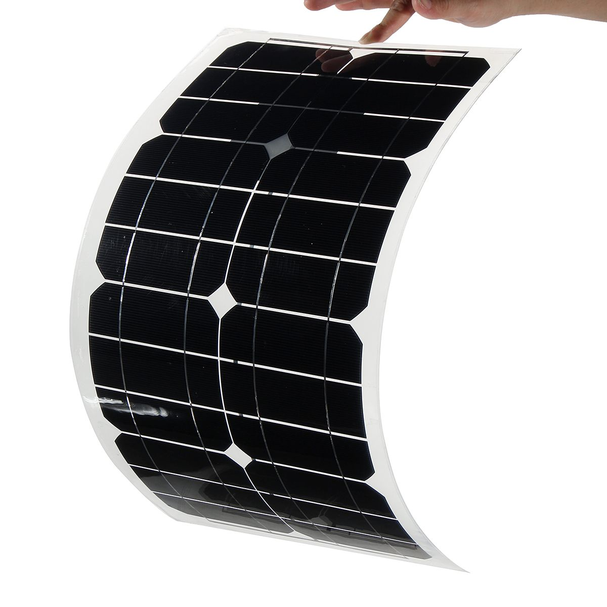 Scm Solar 24w 5v elfeland semi a class sun power usb solar panel for