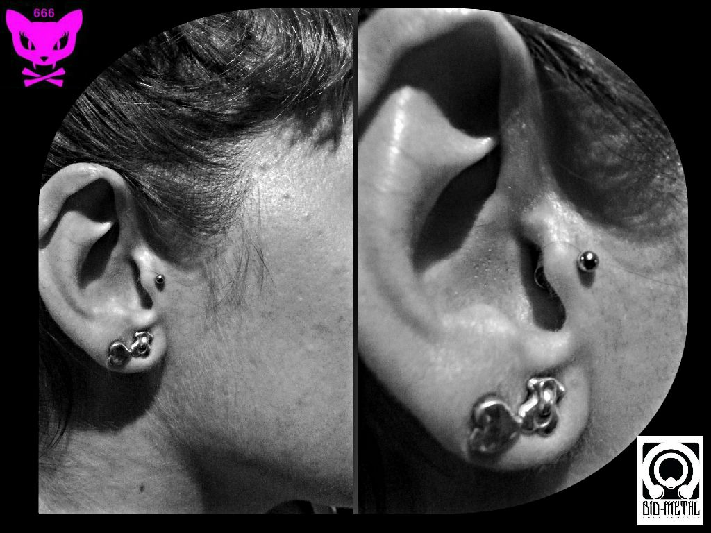 Nose pin without piercing  Pin by BONIC CADAVER TATTOO on  BODY PIERCING   Pinterest