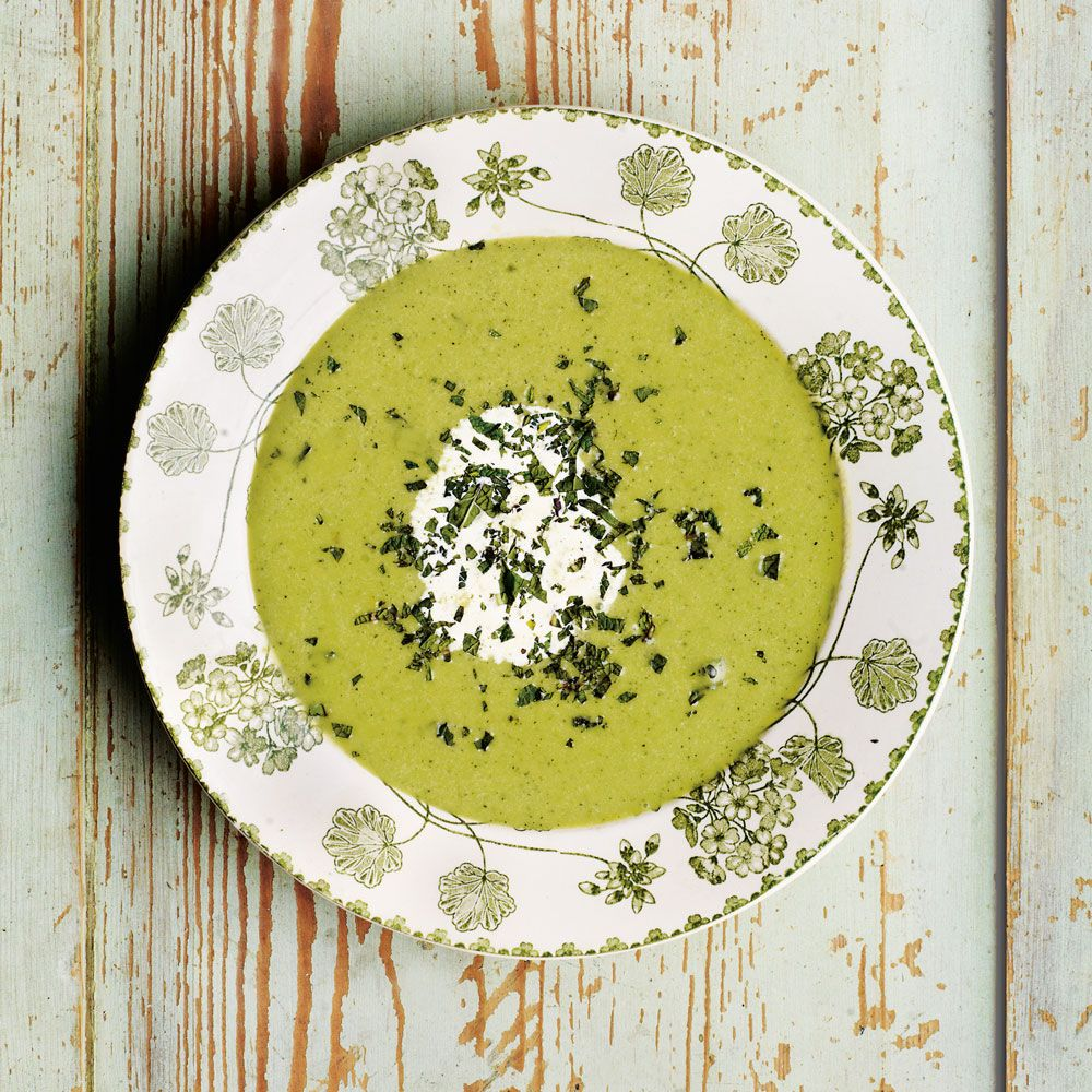 Mint and Pea Soup | Food & Wine