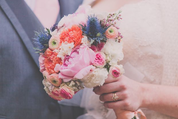 Un mariage rustique et champetre