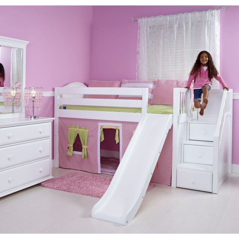 Bunks Beds For Kids With Slide As Their Playground  ...