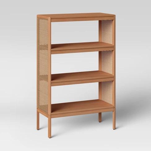 48 Minsmere Bookshelf Natural Brown Opalhouse Brown Bookshelves Bookshelves Small Bookshelf