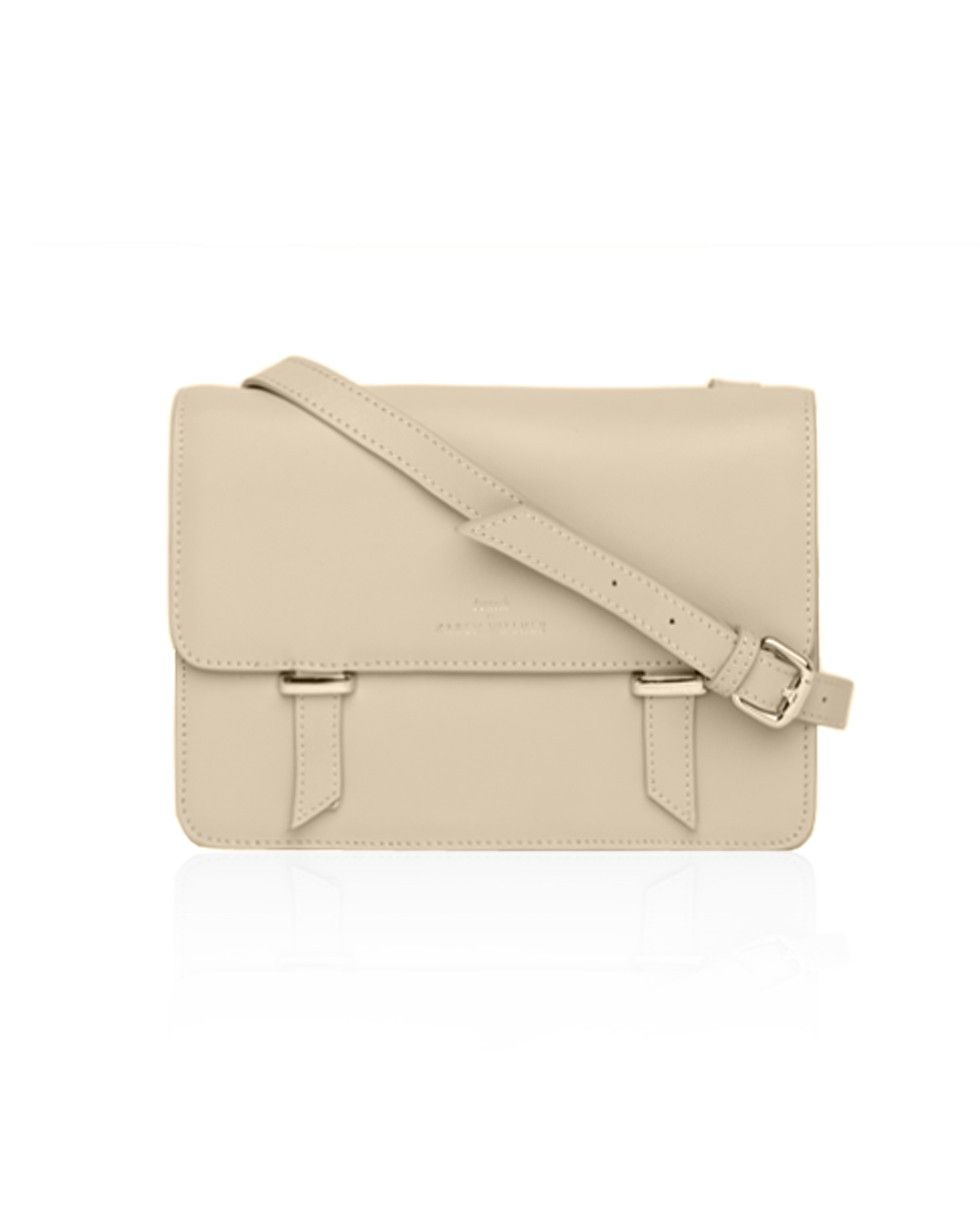 fd1ee1ba7982 Sloane Satchel in Cream - by Benah for Karen Walker at www.preciouspeg.com
