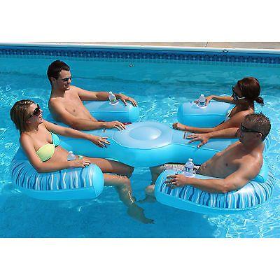 New Lounge Pool Float Swimming Pool Lake Tubes Float Inflatable Swim Tube Water Inflatable Pool Floats Pool Lounge Pool Lounger