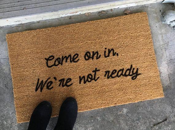 custom door mat door mats with sayings by
