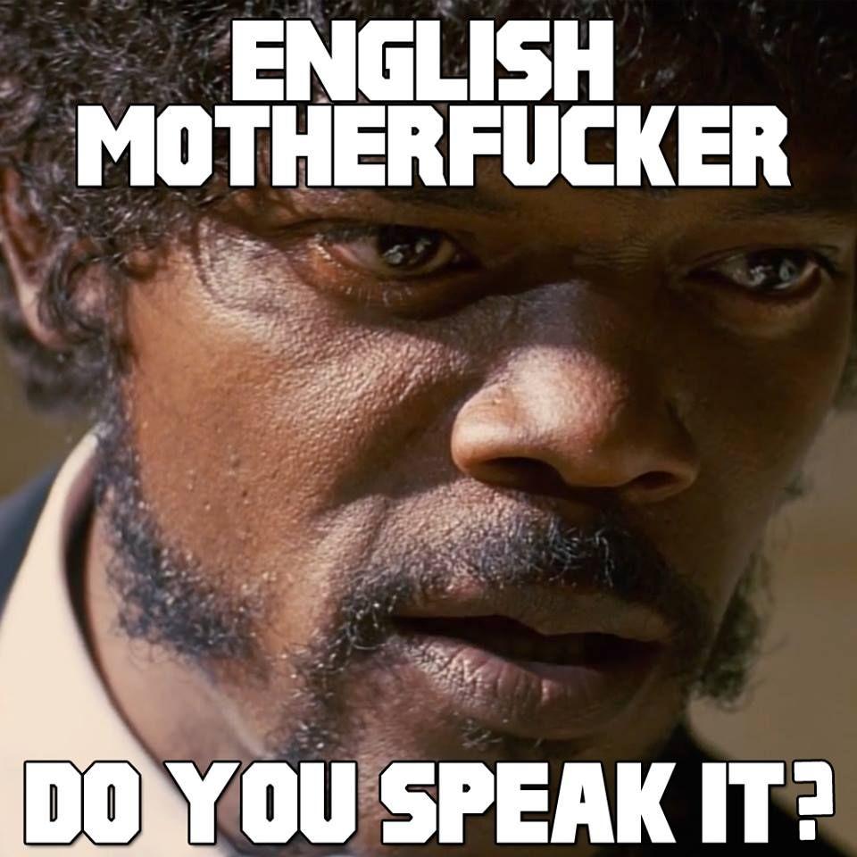 Pulp Fiction English Do You Speak It Samuel L Jackson