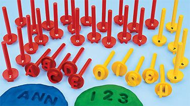 ABC Play Dough Stampers