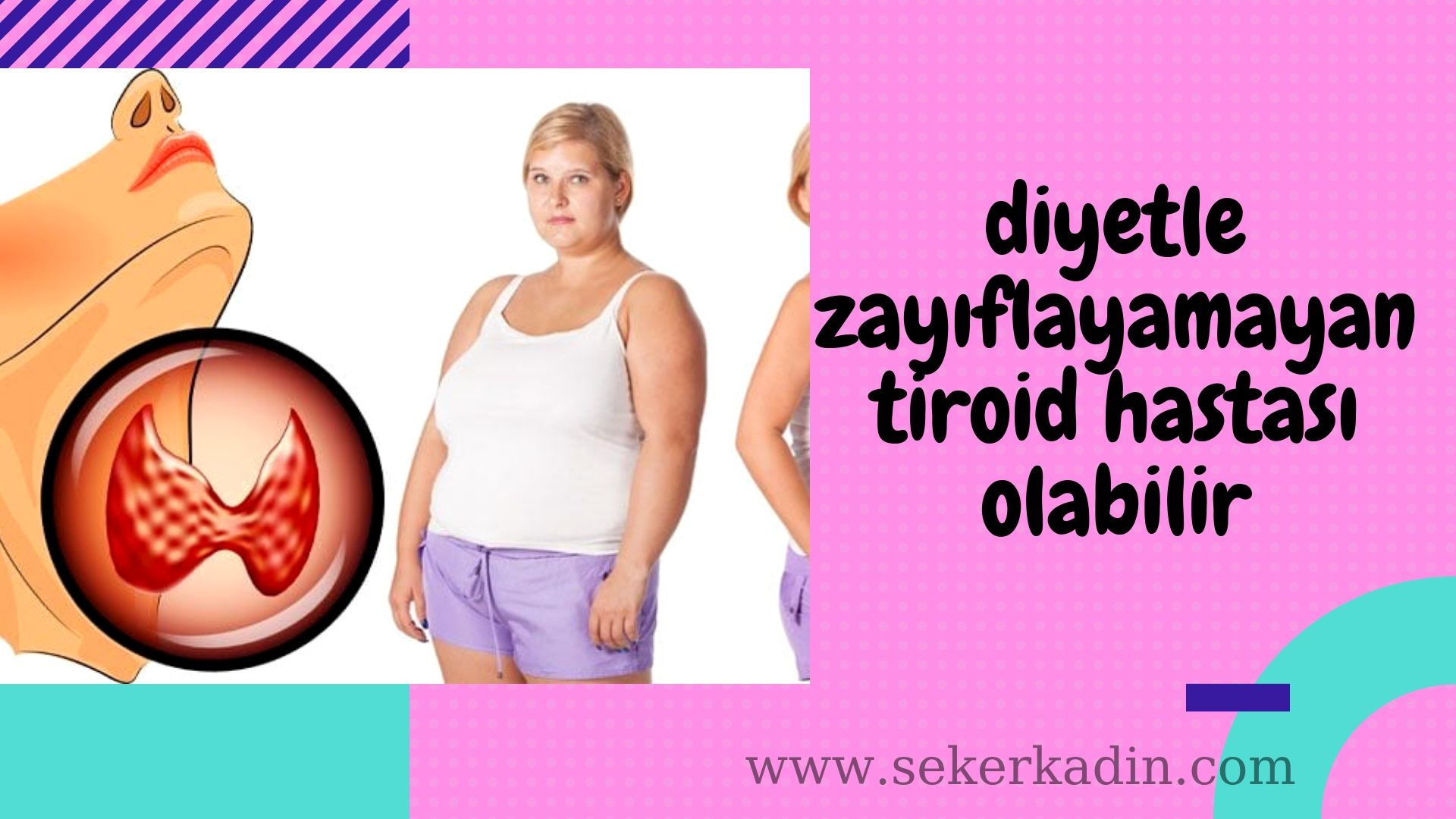 Tiroid Yetmezligi Metabolizmayi Yavaslatan Ve Bu Nedenle Kisilerde