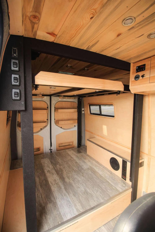 Clean Slate Freedom Vans Van Conversion Interior Van Bed Portable House