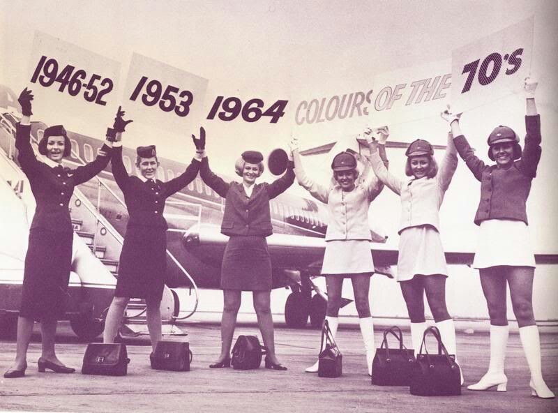 TAA celebrates its new uniforms, 1970