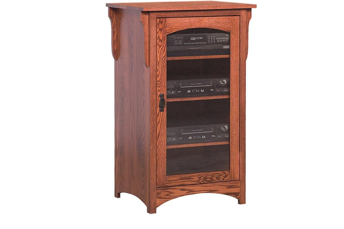Amish Mission Stereo Cabinet Stereo Cabinet Mission Style Furniture Cabinet
