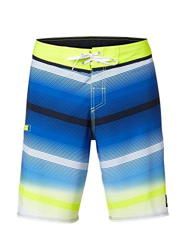 b733bc7a0b Quiksilver Mens Diffuse Traceable Recycled 4 Way Stretch Boardshort Diffuse  White 32 -- Click the image to visit the Amazon website