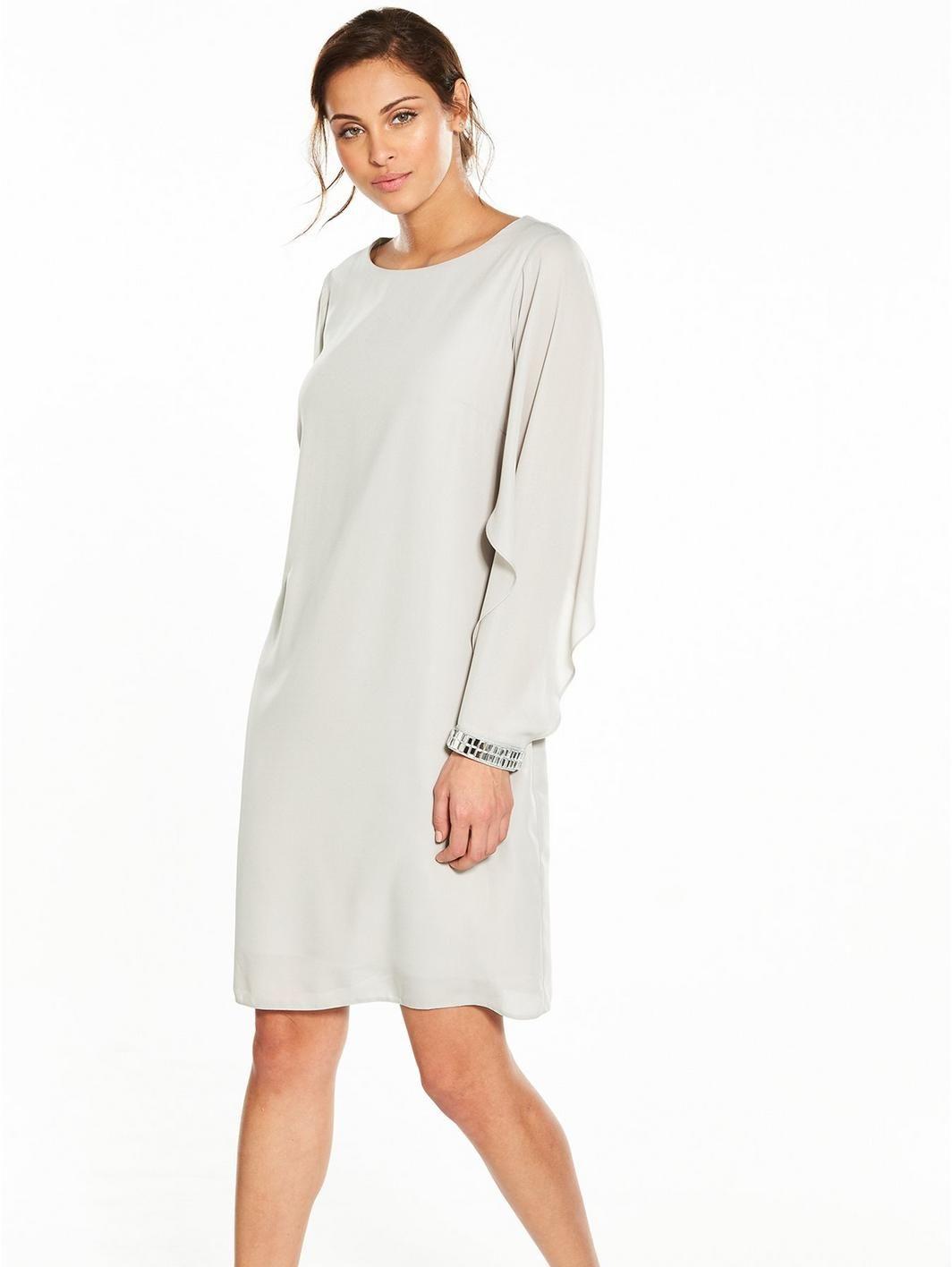 Wallis Open Float Sleeve Shift Dress, http://www.littlewoods.com/wallis-open-float-sleeve-shift-dress/1600163406.prd