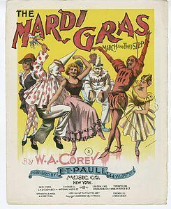 Mardi ~ Gras (1897). N.Y.