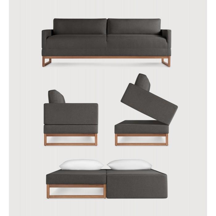 Blu Dot Diplomat 80 Sleeper Sofa Modern Sleeper Sofa Sofa