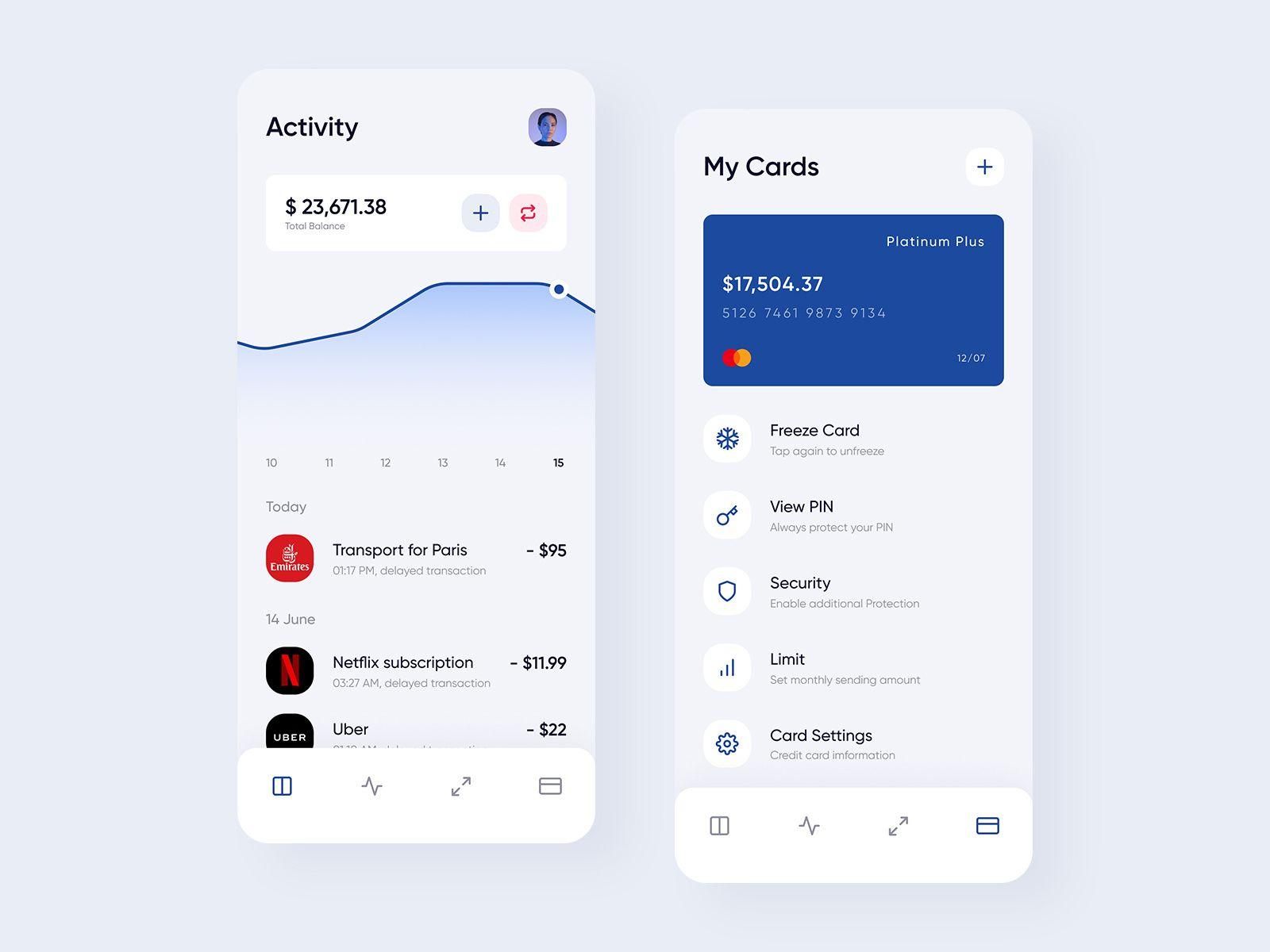 App Di Design pin su xd template