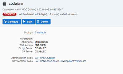 SAP HANA XS Classic, Develop your first SAP HANA XSC