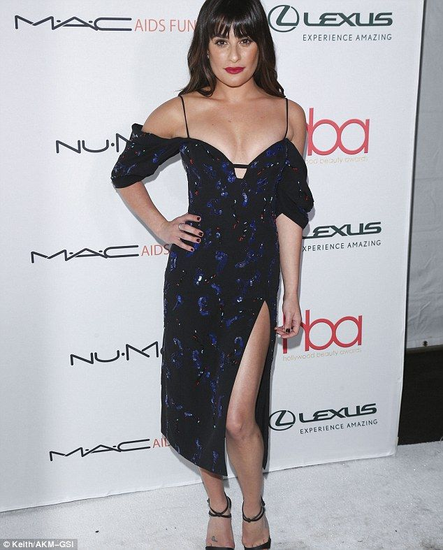 Fashion Beauty Awards 2017: Lea Michele Takes The Plunge At The Hollywood Beauty