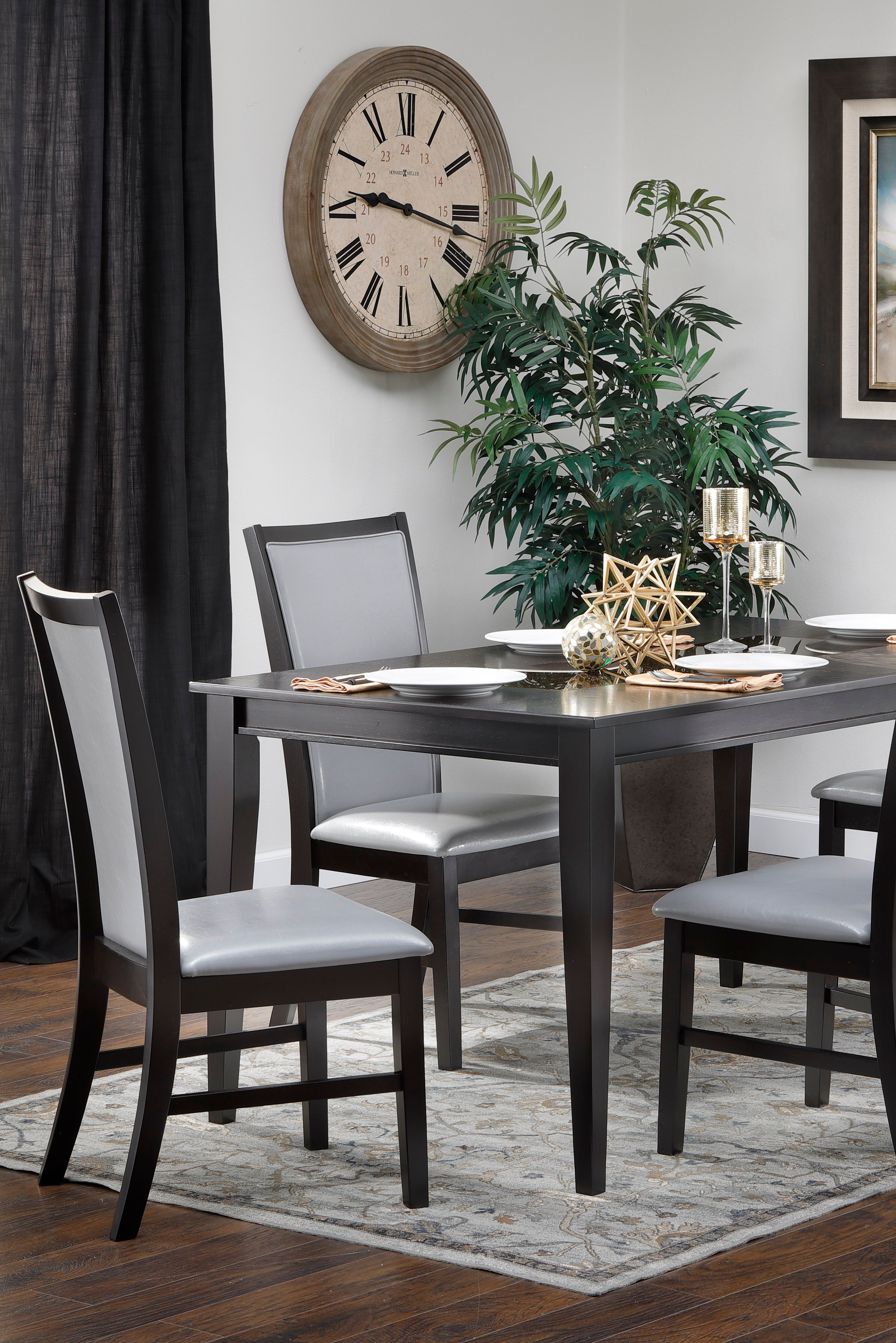 Calypso 5 Pc Dining Room Set Rowe Furniture Dining Rectangle