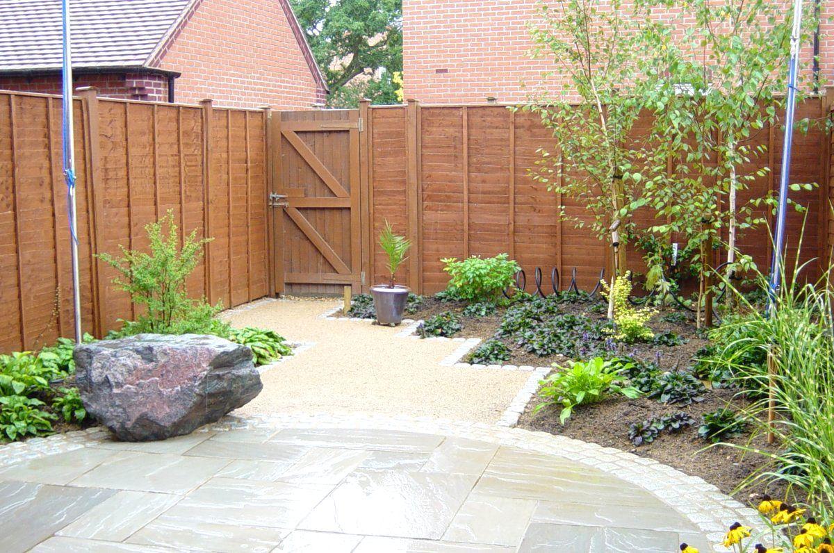 Small Paved Garden Design Ideas | The Garden Inspirations | GARDEN ...