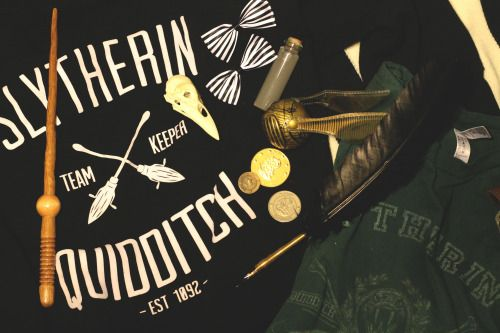 Image result for slytherin quidditch aesthetic