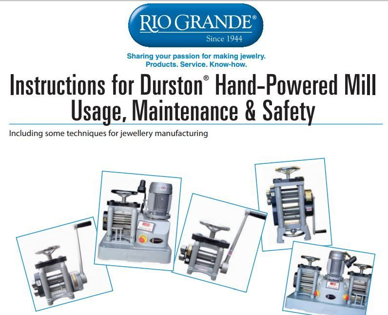 Even Though Mine Isn T A Durston There S Lots Of Good Info And Ideas In This Also Handy Troubleshooting Chart Instruction Jewelry Tools Handy