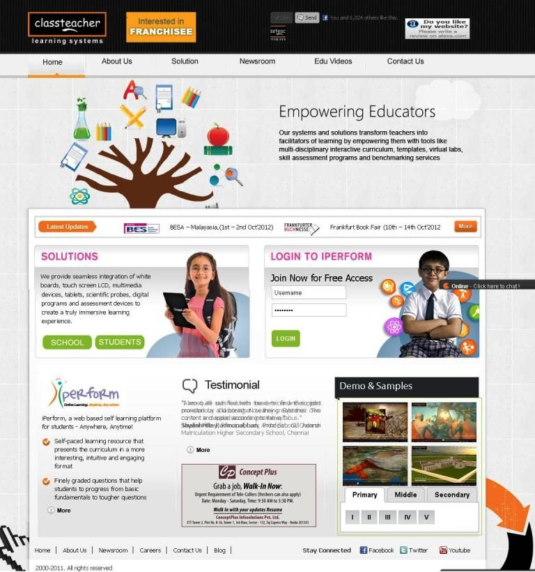 Digital Math Solution lab is completely structured on NCERT ...