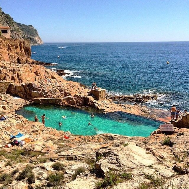 Dreaming of begur spain la plage pinterest spain for Piscinas naturales andalucia