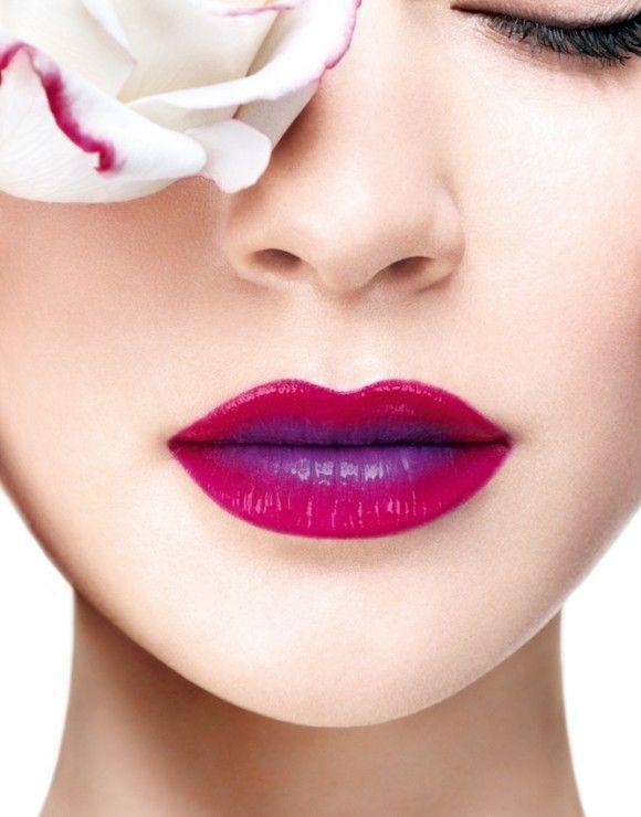 Two Tone-Lips sind der Trend für Entscheidungsunfreudige