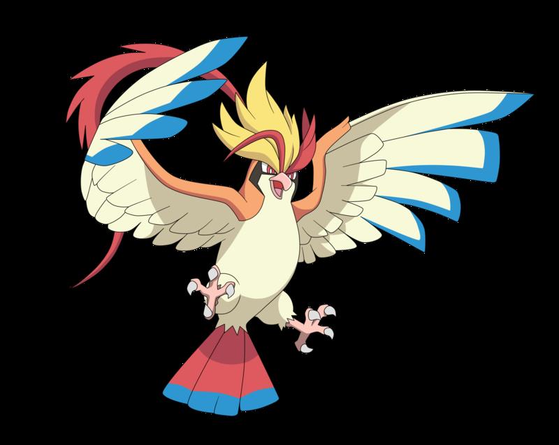 Mega Pidgeot (Anime Style) by Alexalan | Anime style, Bird pokemon, Pokemon  drawings