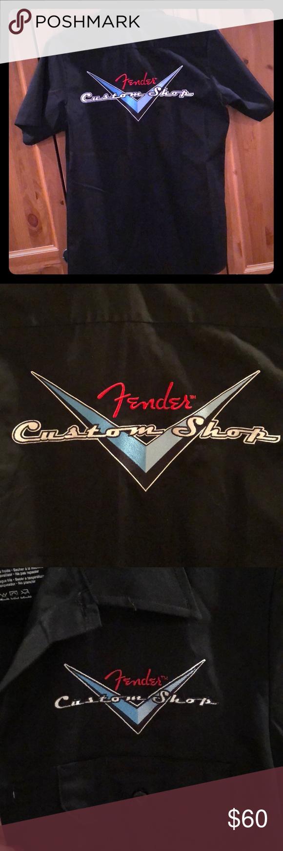 Closet Closing Fender Guitars Custom Shop Shirt How To Wear Shopping Shirt Shop