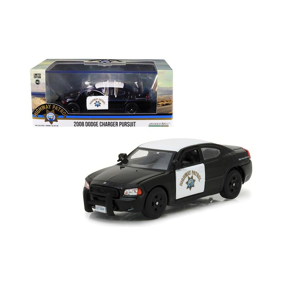 1:43 Greenlight Dodge Charger Pursuit Highway Patrol 2008