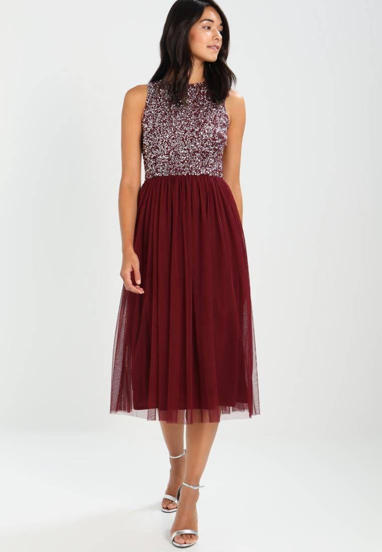 PICASSO - Cocktailkleid/festliches Kleid - burgundy | Picasso, Lace ...