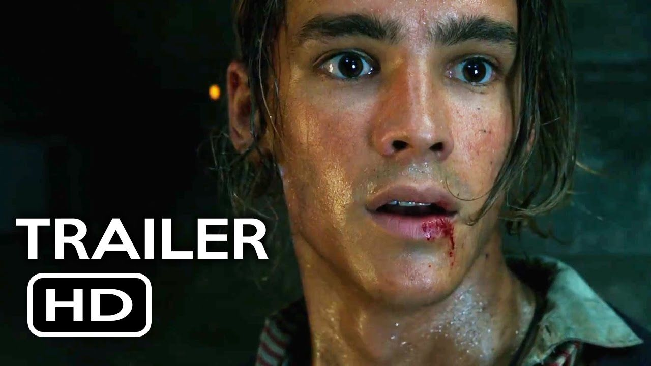 Wow ! :-O Pirates of the Caribbean: Dead Men Tell No Tales Official Teaser Trailer...