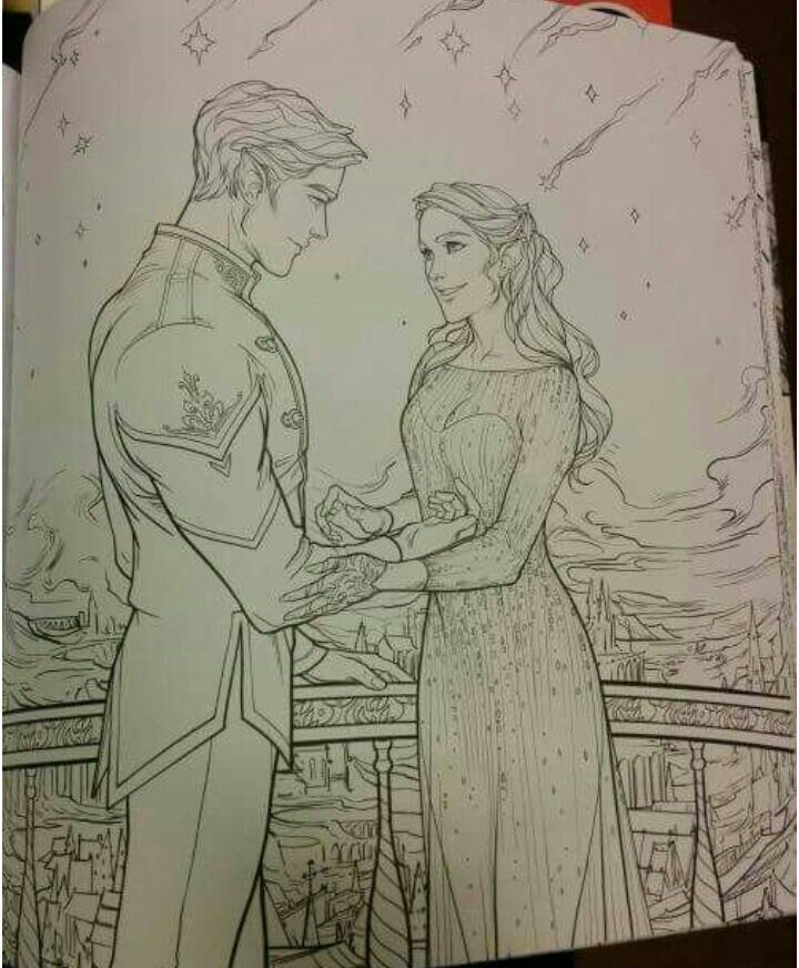 Embedded A Court Of Mist And Fury Sarah J Maas Books Coloring