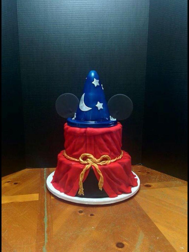 Sorcerer Mickey Cake In 2019 Birthday Cake Mickey Cakes