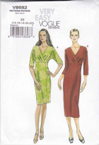 Dolman Sleeve Dress Pattern