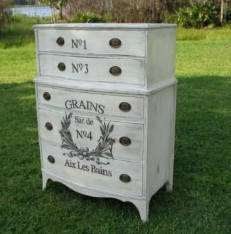 gorgeous upcycle with paint and transfers upcycling pinterest