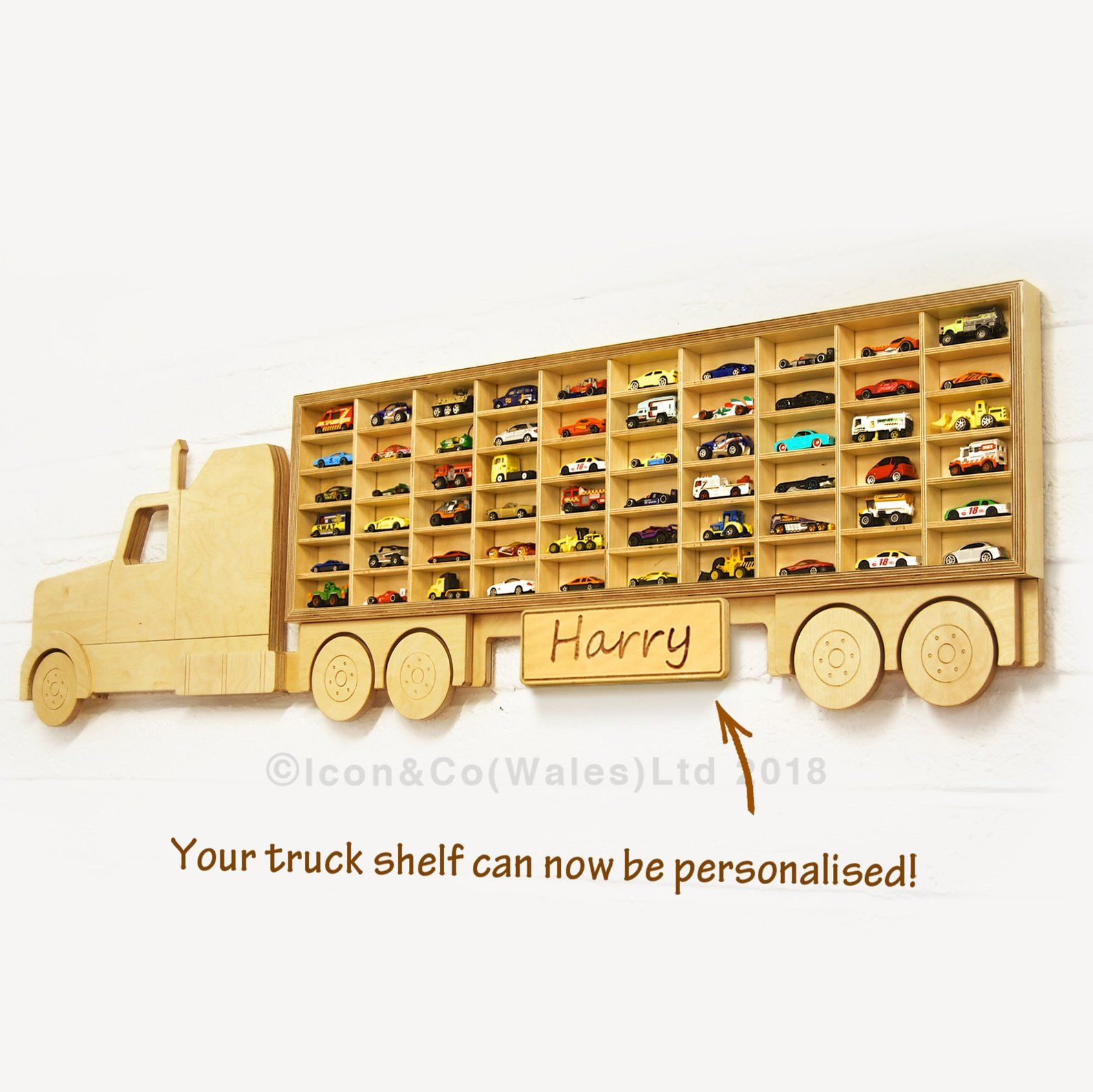 Hot Wheels Shelf Toy Car Storage Truck Shelving Unit Us Tractor Free Uk Delivery Birch Plywood Birthday Present Ideas For Him Boys Gift Speelgoed Opslag Hot Wheels The Carpenters