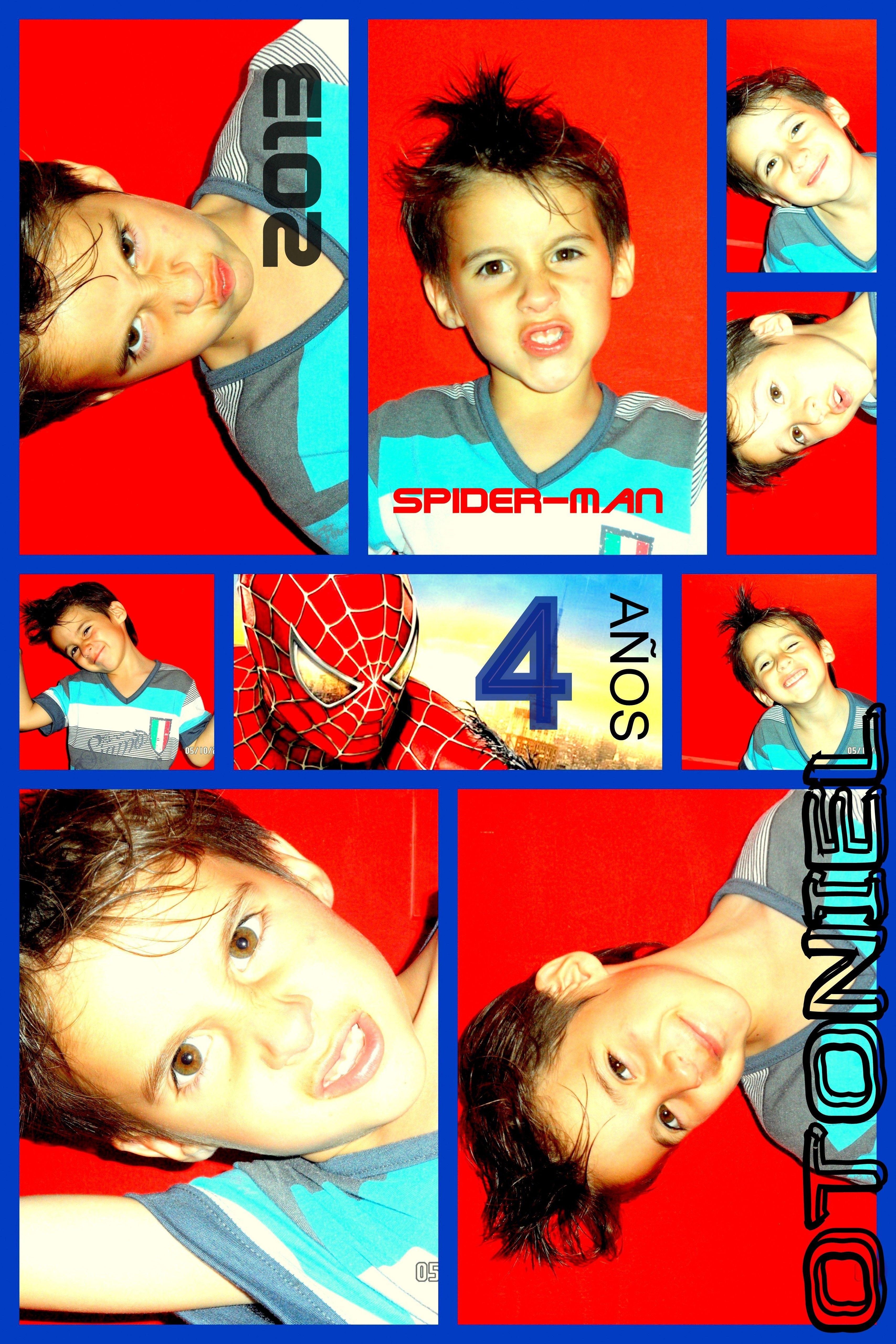 Spiderman- Hombre Araña   2 frentes
