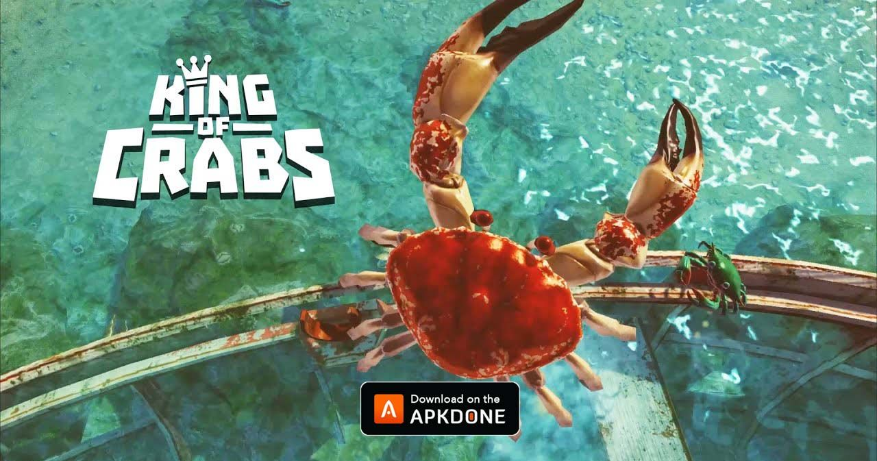 New Apk King Of Crabs Mod Apk 1 7 9 Unlimited Money Updated Modded Apkdone In 2020 Crab Sea Enemy King