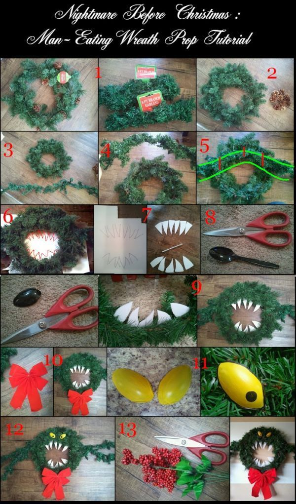 22 Decorations Perfect For Both Halloween And Christmas MUÑECOS Y