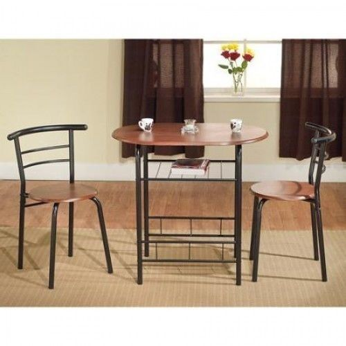 Small Kitchen Table Set Breakfast Table Chairs Black Espresso