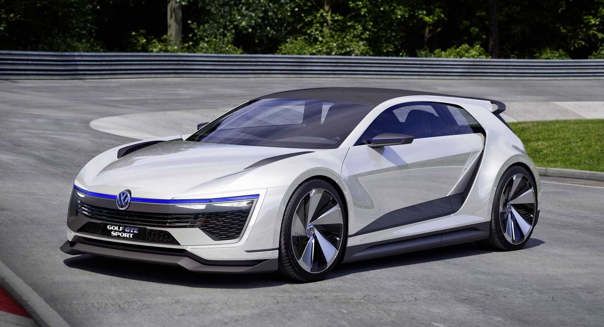 2020 Vw Golf R Going Extreme With 400 Hp And Hybrid Tech Carscoops Concept Cars Volkswagen Golf Vw Golf