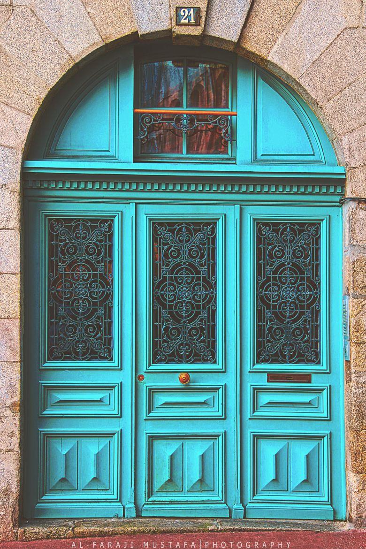 Pin By Andrea Gurovich On Doors Windows Unique Doors Beautiful Doors Turquoise Door