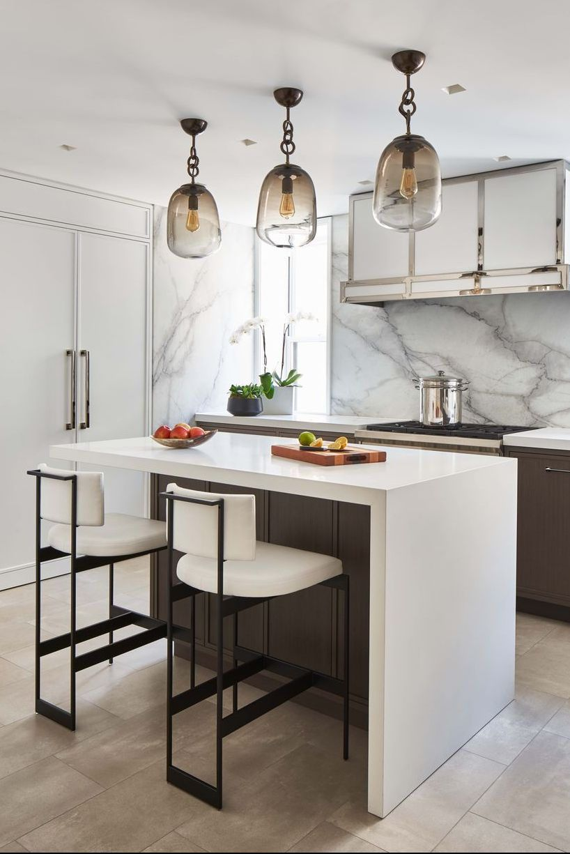 40 High Design Kitchens You Ll Be Obsessed With Contemporary Kitchen Kitchen Trends Kitchen Design