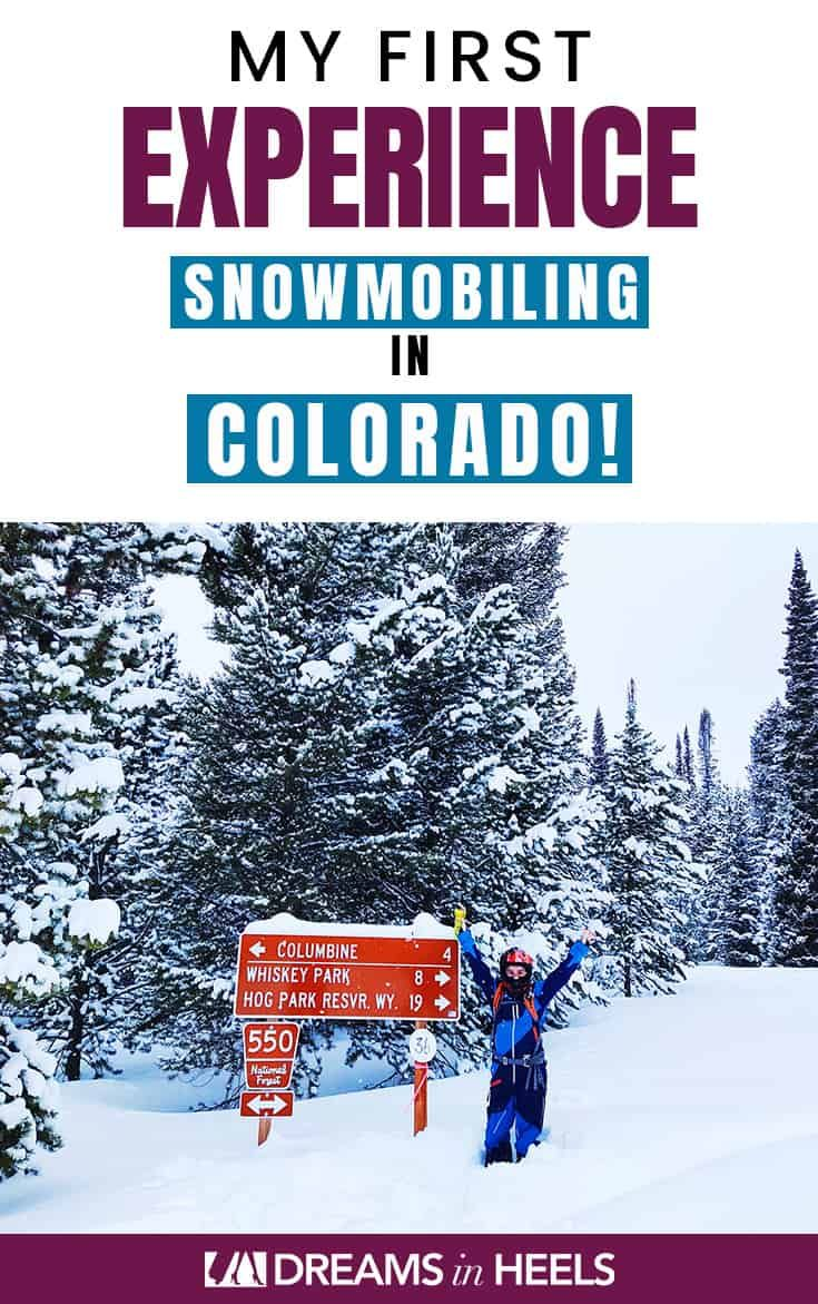 Snowmobiling In Colorado A First Timer S Snowmobile Adventure In 2020 Colorado Travel Usa Travel Guide Travel Usa
